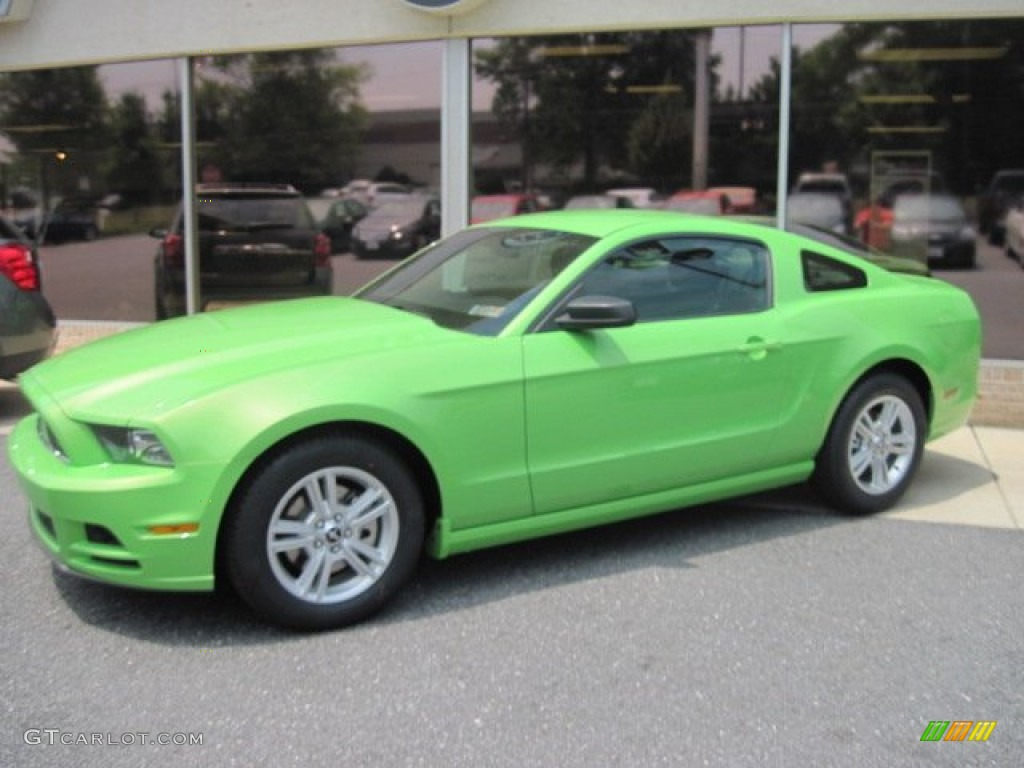 2013 gotta have it green ford mustang v6 coupe 67012361 gtcarlot