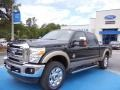 2012 Green Gem Metallic Ford F250 Super Duty Lariat Crew Cab 4x4  photo #1