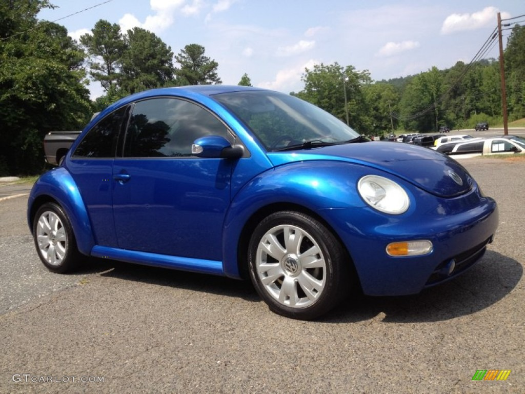 VW 2003 vw bug : 2003 Blue Lagoon Metallic Volkswagen New Beetle GLS 1.8T Coupe ...