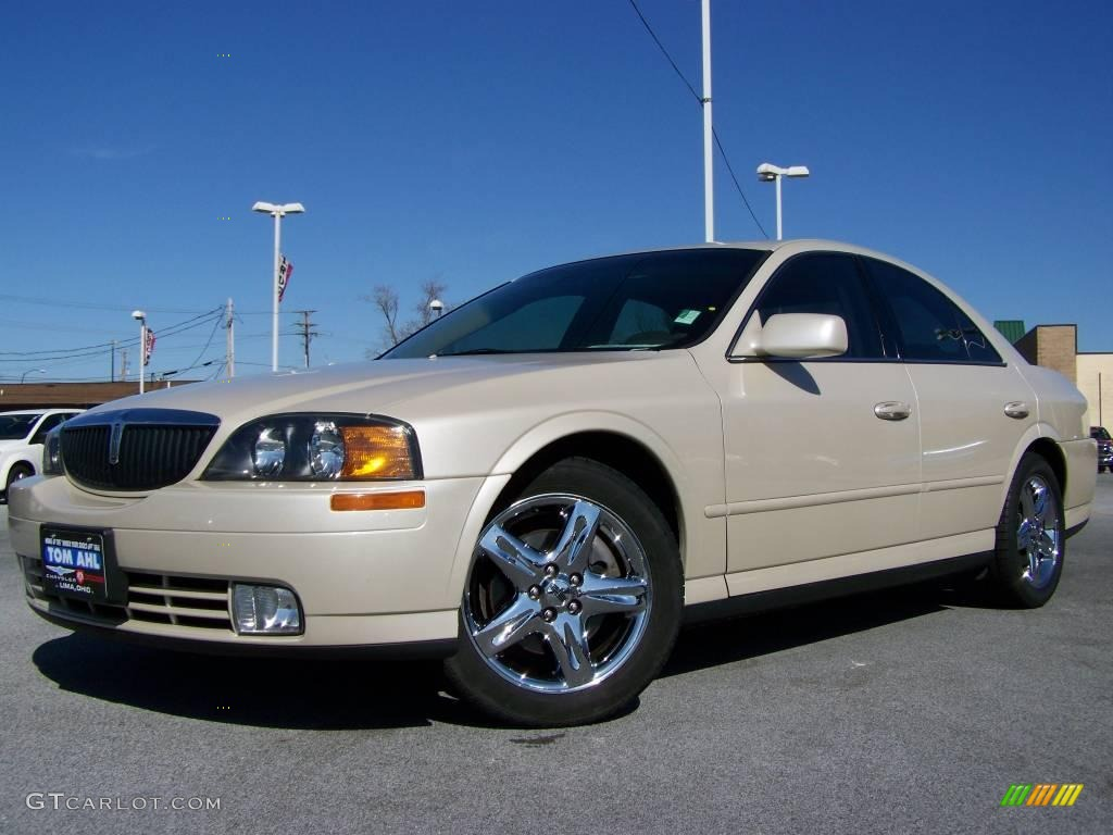 2002 Ivory Parchment Pearl Tri Coat Lincoln Ls V8 6637311