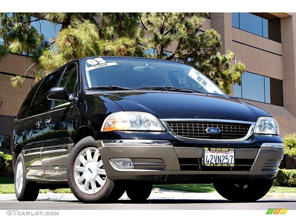 2003 black ford windstar limited 67073944 car color galleries. Black Bedroom Furniture Sets. Home Design Ideas