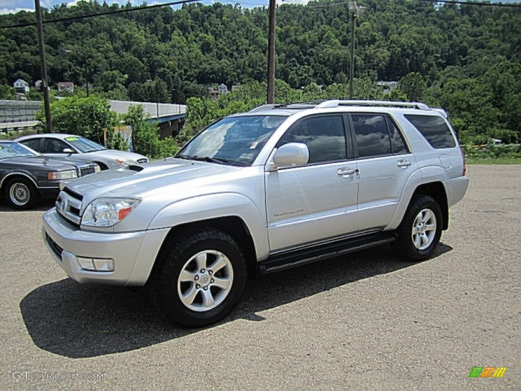titanium metallic 2004 toyota 4runner sport edition 4x4. Black Bedroom Furniture Sets. Home Design Ideas