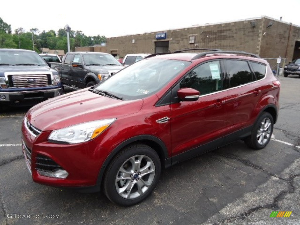 ruby red metallic 2013 ford escape sel 2 0l ecoboost 4wd exterior photo 67095493. Black Bedroom Furniture Sets. Home Design Ideas