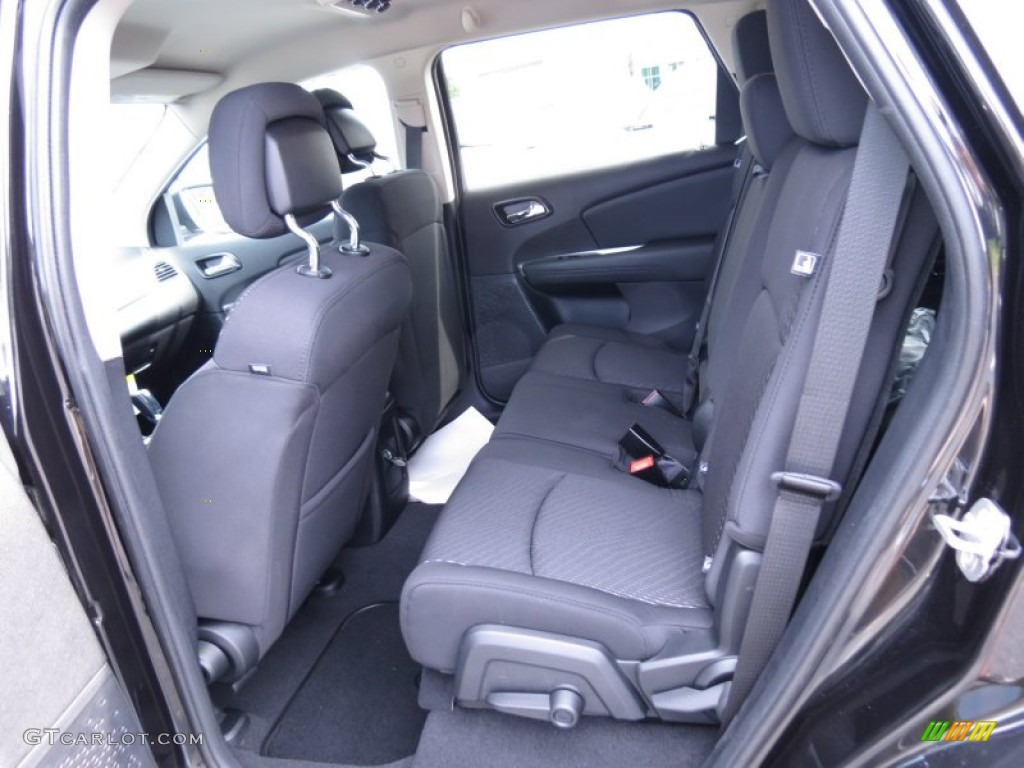 2012 dodge journey sxt rear seat photo 67108654. Black Bedroom Furniture Sets. Home Design Ideas