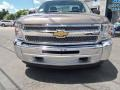 2012 Mocha Steel Metallic Chevrolet Silverado 1500 LS Regular Cab 4x4  photo #7