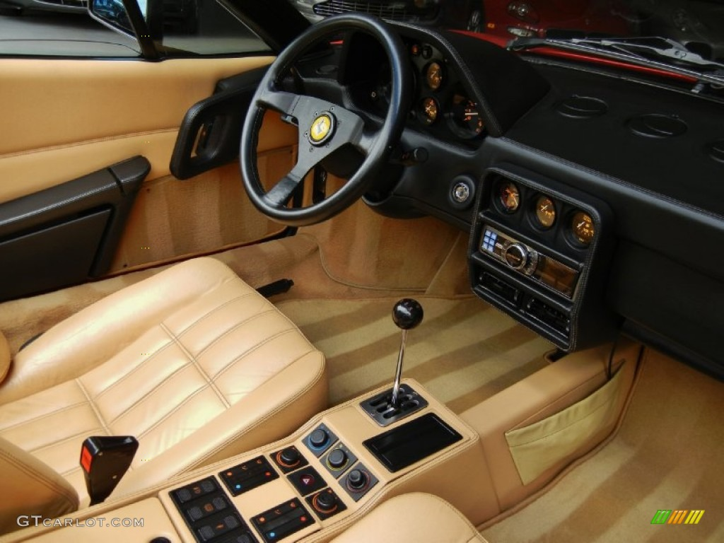 tan interior 1989 ferrari 328 gts photo 67120544. Black Bedroom Furniture Sets. Home Design Ideas