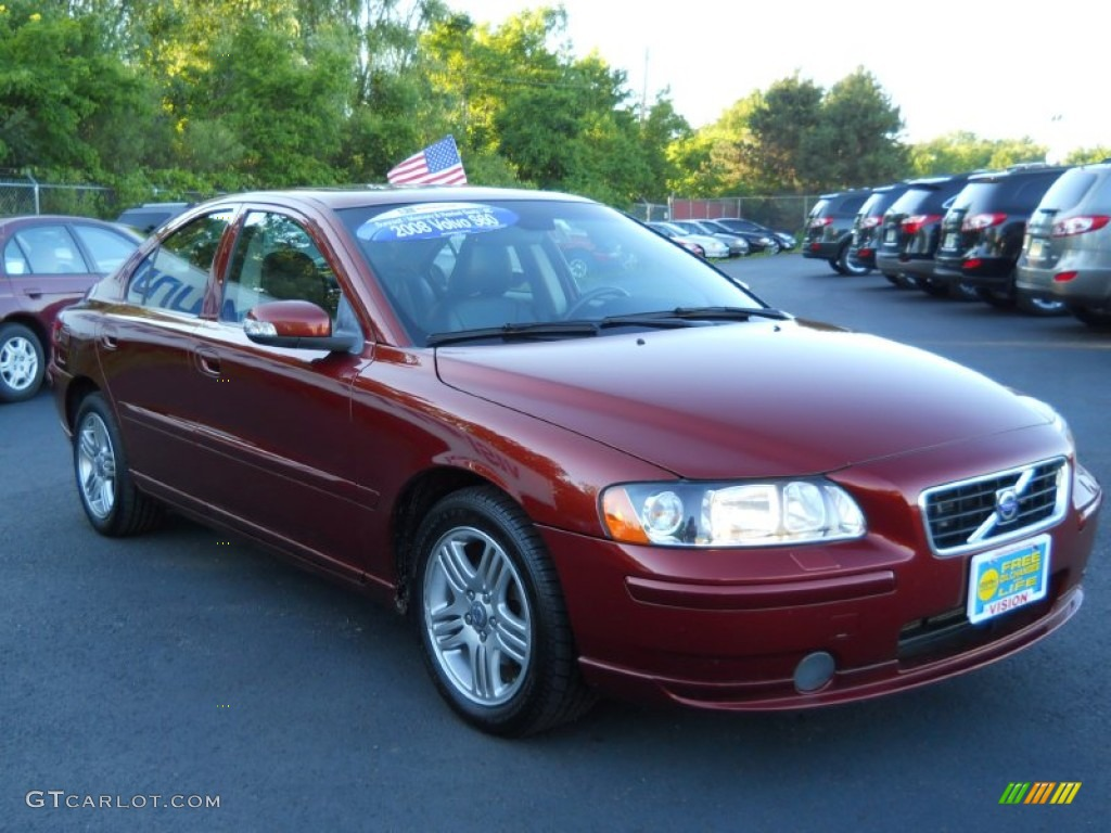 2008 maple red volvo s60 2 5t 67104476 photo 14. Black Bedroom Furniture Sets. Home Design Ideas