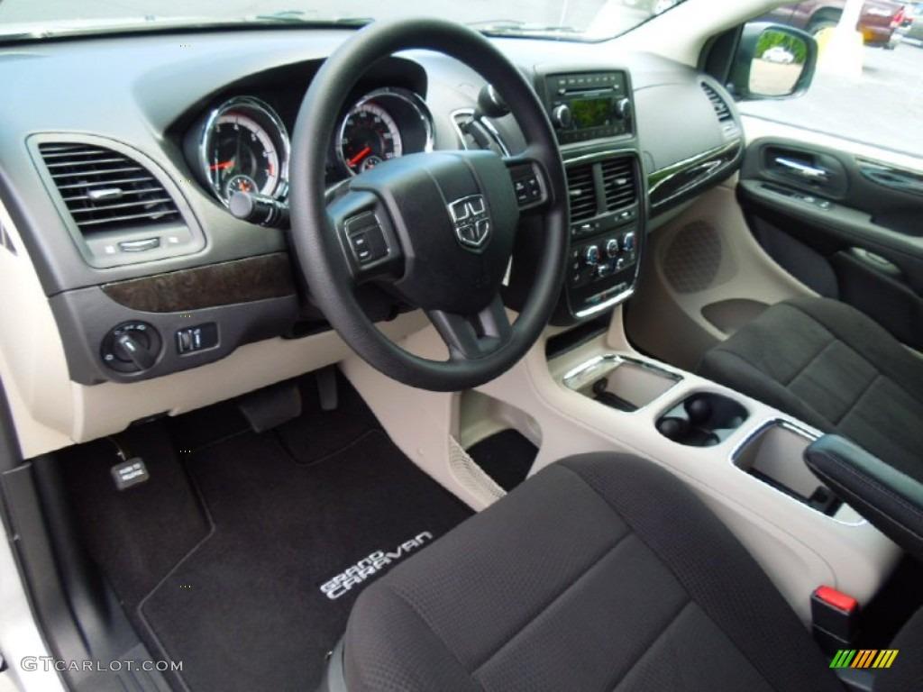 Black Light Graystone Interior 2012 Dodge Grand Caravan Sxt Photo 67138590