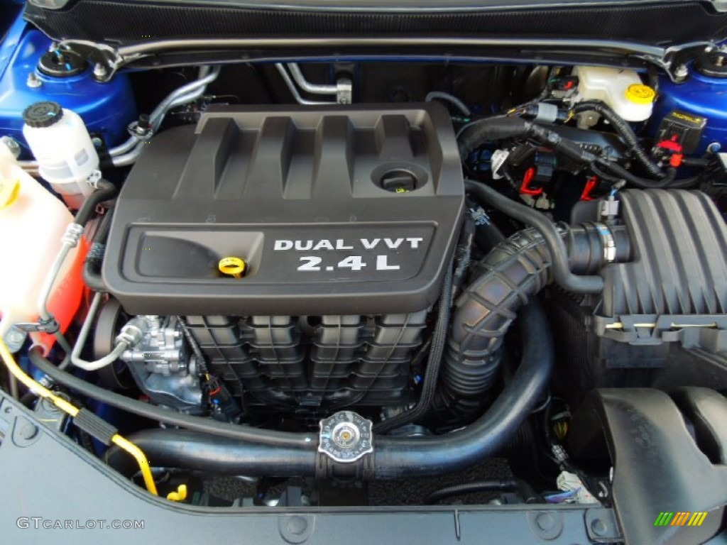 2012 Dodge Avenger SXT 2.4 Liter DOHC 16-Valve Dual VVT 4 Cylinder Engine  Photo