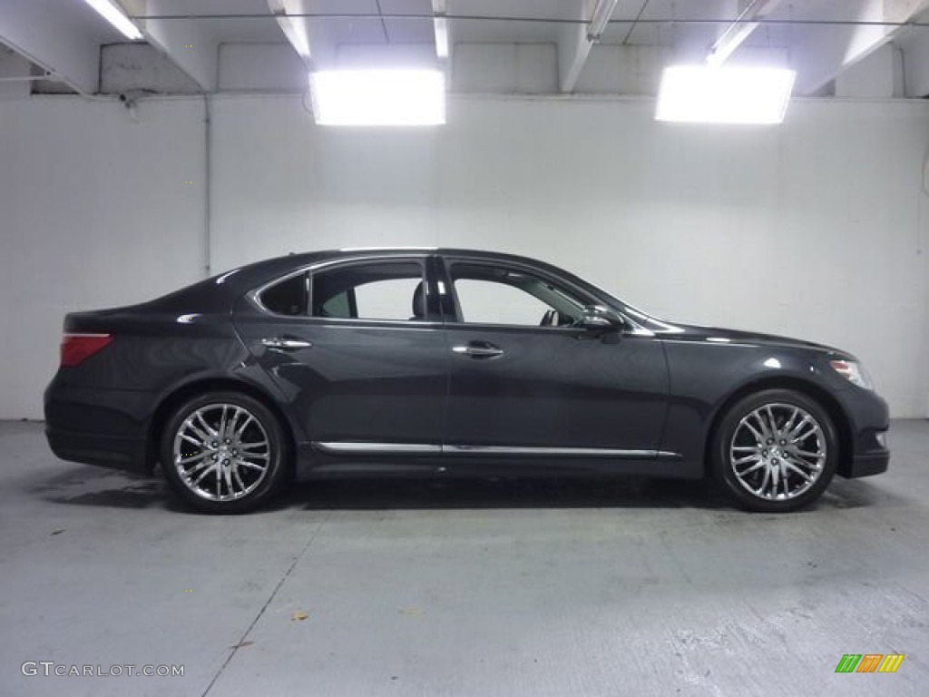 2010 lexus ls 460 awd smoky granite mica color black interior 2010 ls