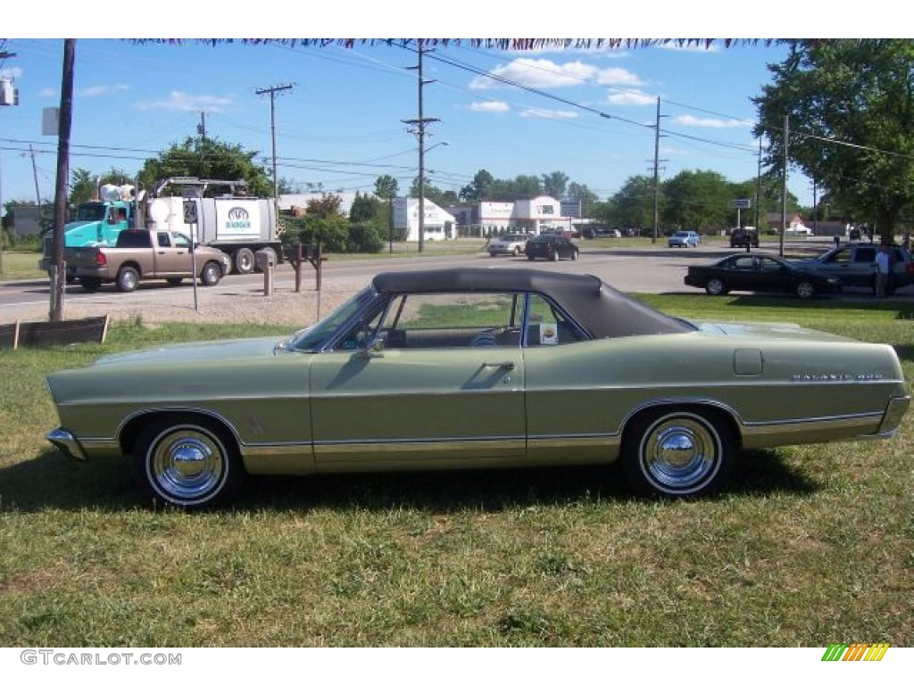 lime gold 1967 ford galaxie 500 convertible exterior photo. Cars Review. Best American Auto & Cars Review