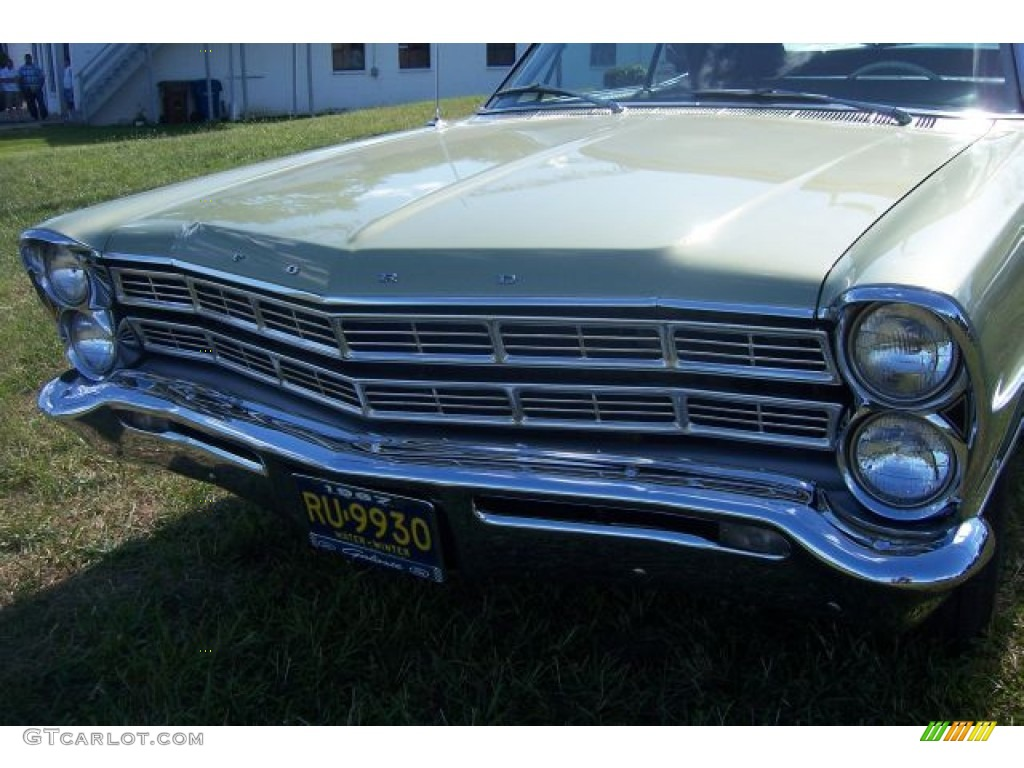 1967 Lime Gold Ford Galaxie 500 Convertible 67147756