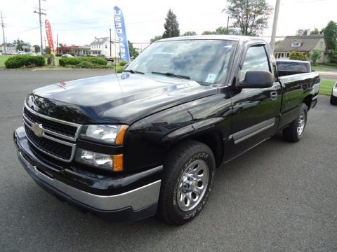2007 chevrolet silverado 1500 classic ls regular cab data. Black Bedroom Furniture Sets. Home Design Ideas