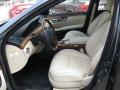 Beige/Black 2007 Mercedes-Benz S Interiors