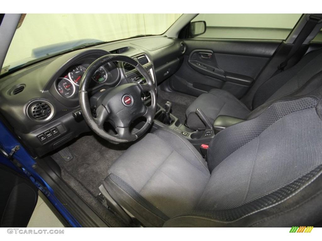 Dark Gray Interior 2004 Subaru Impreza Wrx Sedan Photo 67162016