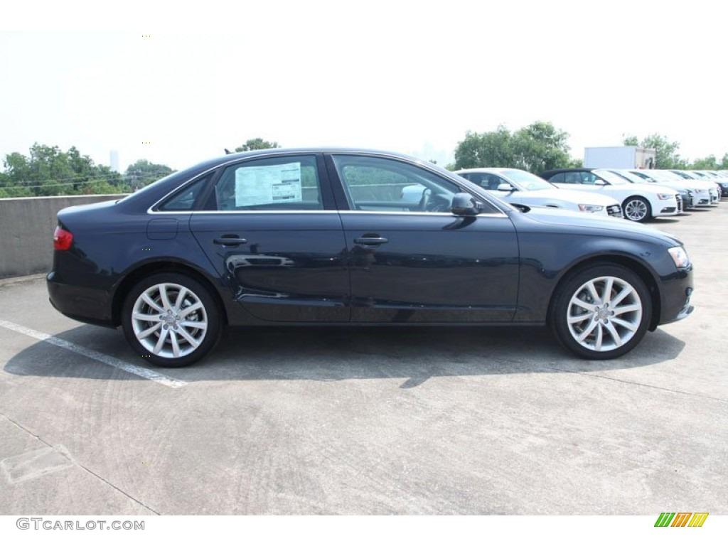 Audi a4 2013 Blue Blue Metallic 2013 Audi a4