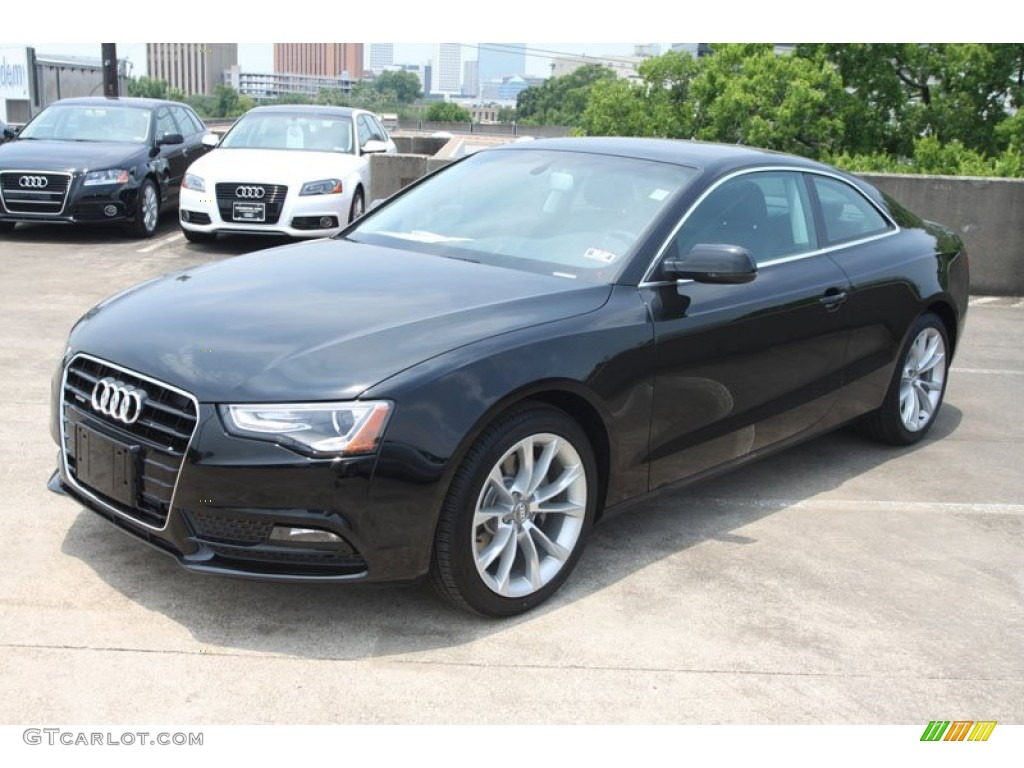 brilliant black 2013 audi a5 2 0t quattro coupe exterior photo 67166519. Black Bedroom Furniture Sets. Home Design Ideas