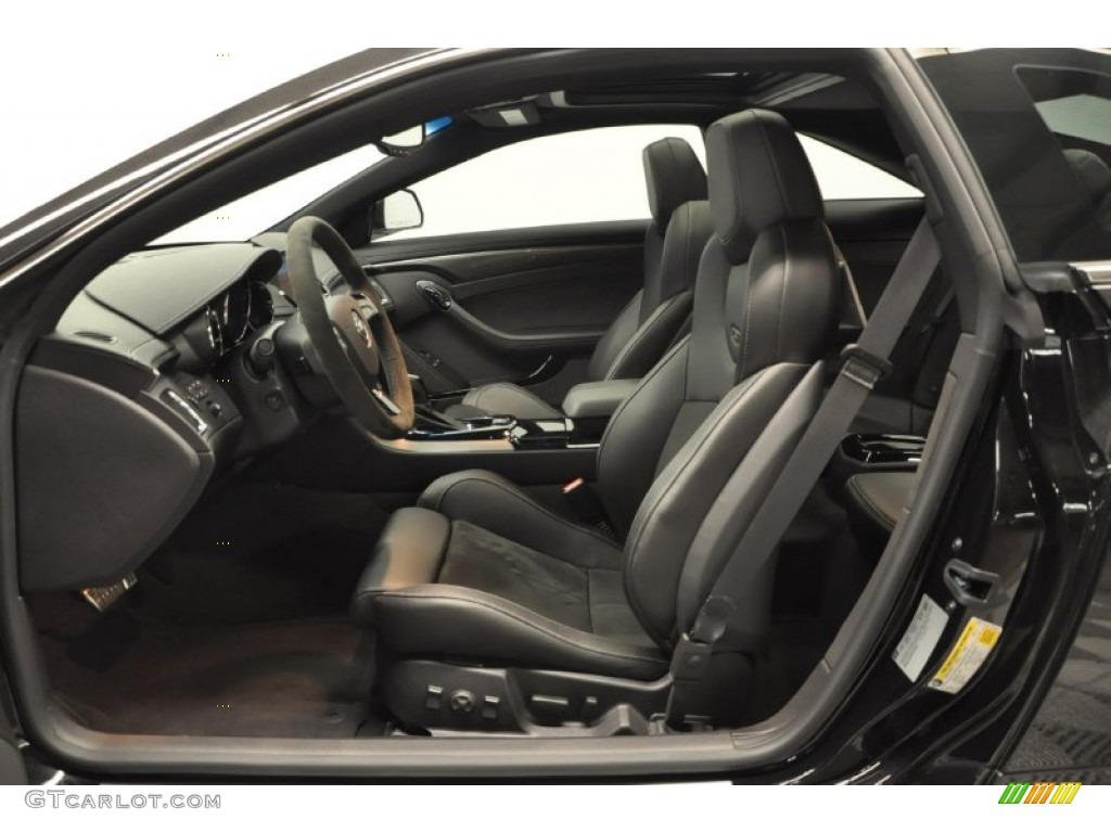 Ebony Ebony Interior 2012 Cadillac Cts V Coupe Photo 67169618