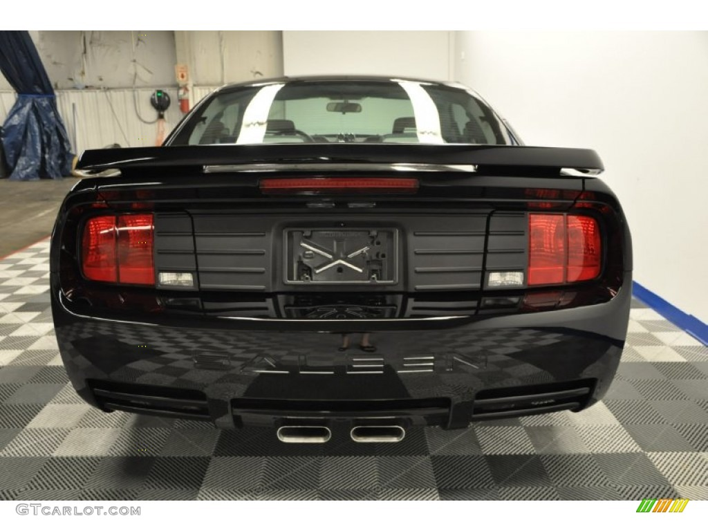 Black 2006 Ford Mustang Saleen S281 Supercharged Coupe Exterior