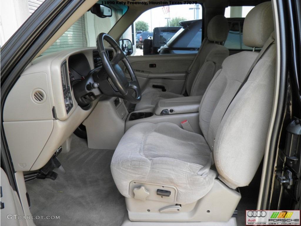 2002 Silverado 1500 LS Extended Cab - Onyx Black / Tan photo #7