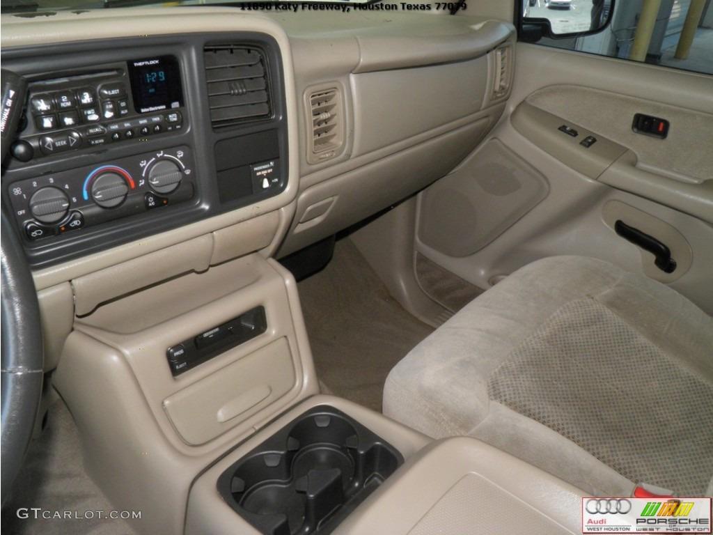2002 Silverado 1500 LS Extended Cab - Onyx Black / Tan photo #9