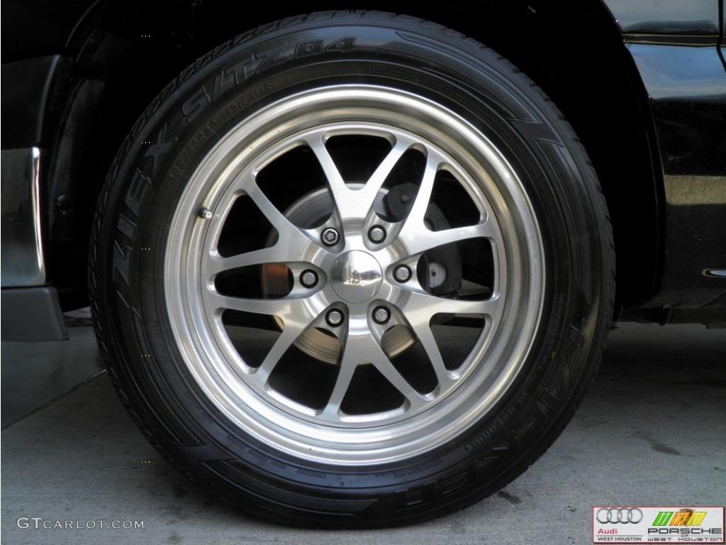 2002 Silverado 1500 LS Extended Cab - Onyx Black / Tan photo #22