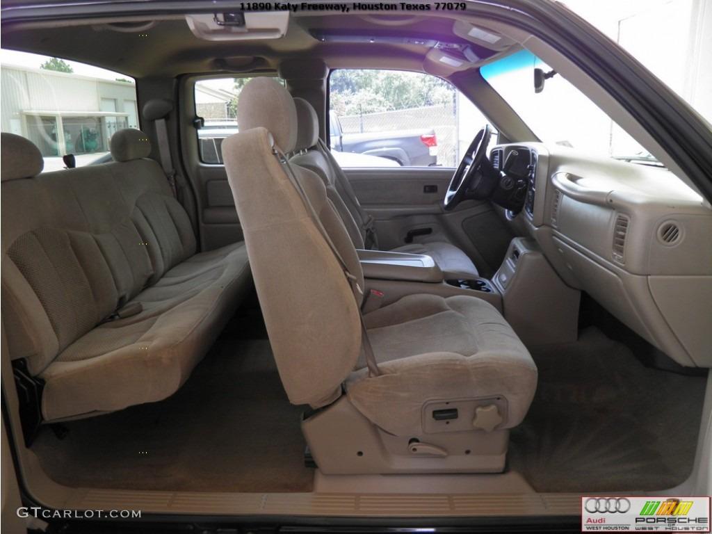 2002 Silverado 1500 LS Extended Cab - Onyx Black / Tan photo #23