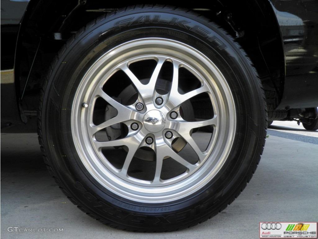 2002 Silverado 1500 LS Extended Cab - Onyx Black / Tan photo #30
