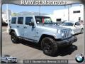 Winter Chill Metallic 2012 Jeep Wrangler Unlimited Sahara Arctic Edition 4x4