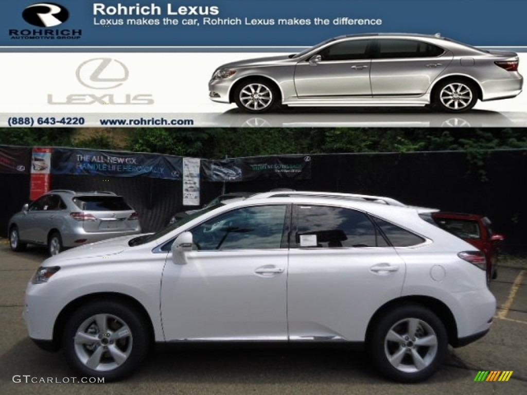 2013 starfire white pearl lexus rx 350 awd 67147133 car color galleries. Black Bedroom Furniture Sets. Home Design Ideas