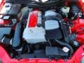 2001 Magma Red Mercedes-Benz SLK 230 Kompressor Roadster  photo #21