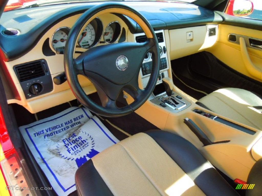 sienna beige interior 2001 mercedes benz slk 230 kompressor roadster photo 67209960. Black Bedroom Furniture Sets. Home Design Ideas