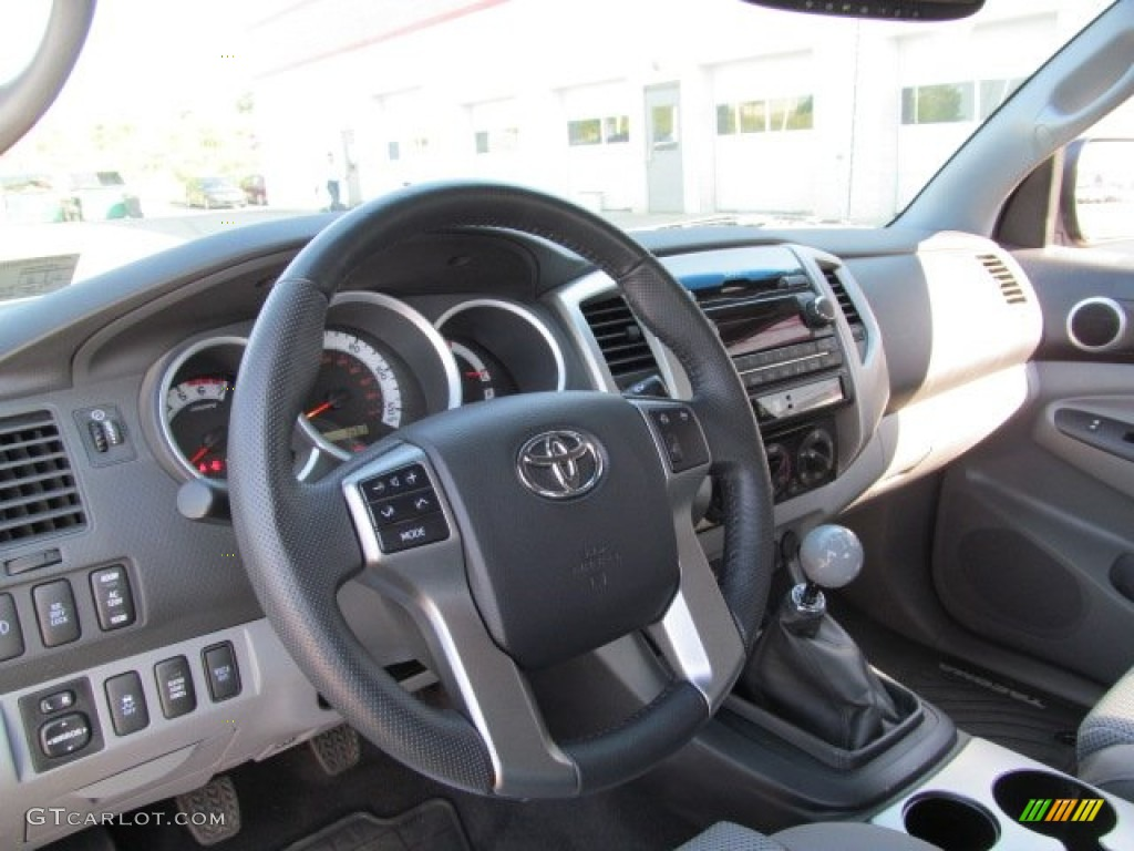 2012 Toyota Tacoma TX Pro Access Cab 4x4 Graphite Dashboard Photo