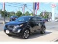 Black Cherry 2011 Kia Sportage SX AWD