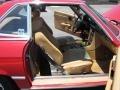 1989 SL Class 560 SL Roadster Parchment Interior