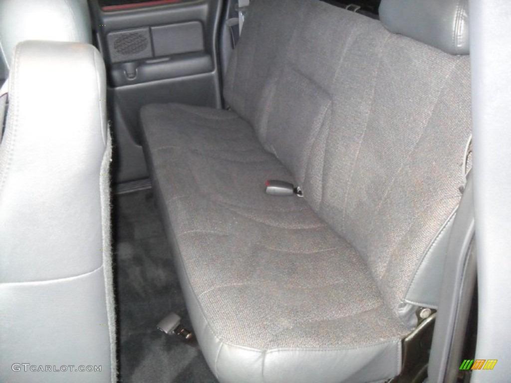 2002 Silverado 1500 Extended Cab - Onyx Black / Graphite Gray photo #9