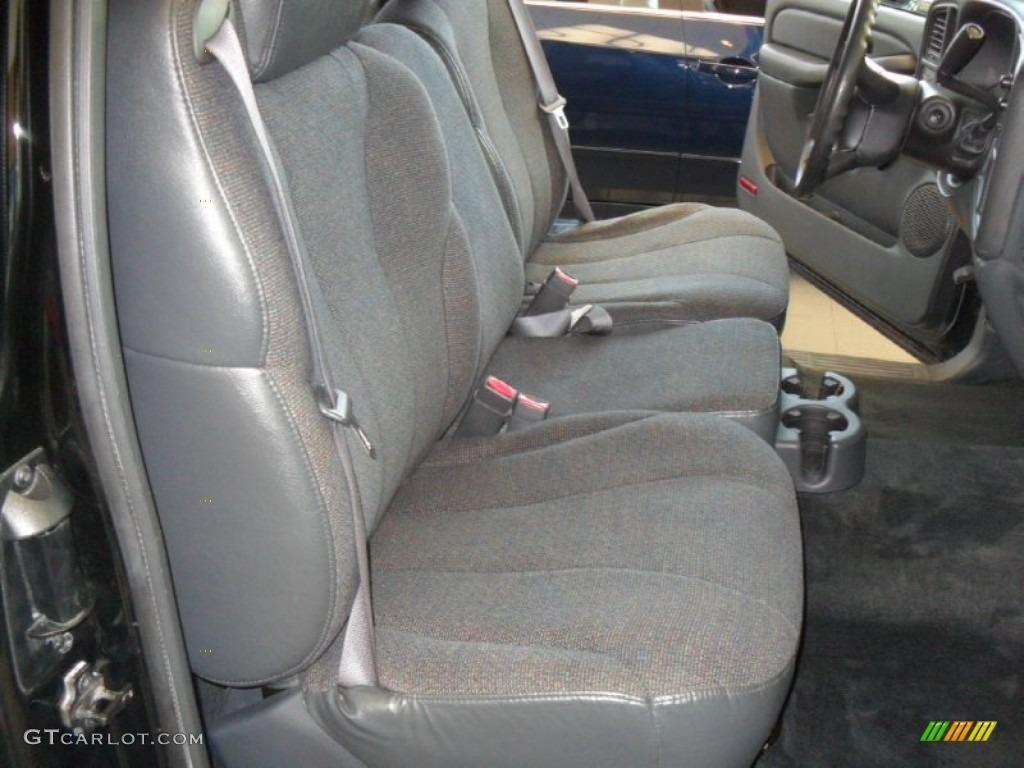 2002 Silverado 1500 Extended Cab - Onyx Black / Graphite Gray photo #11