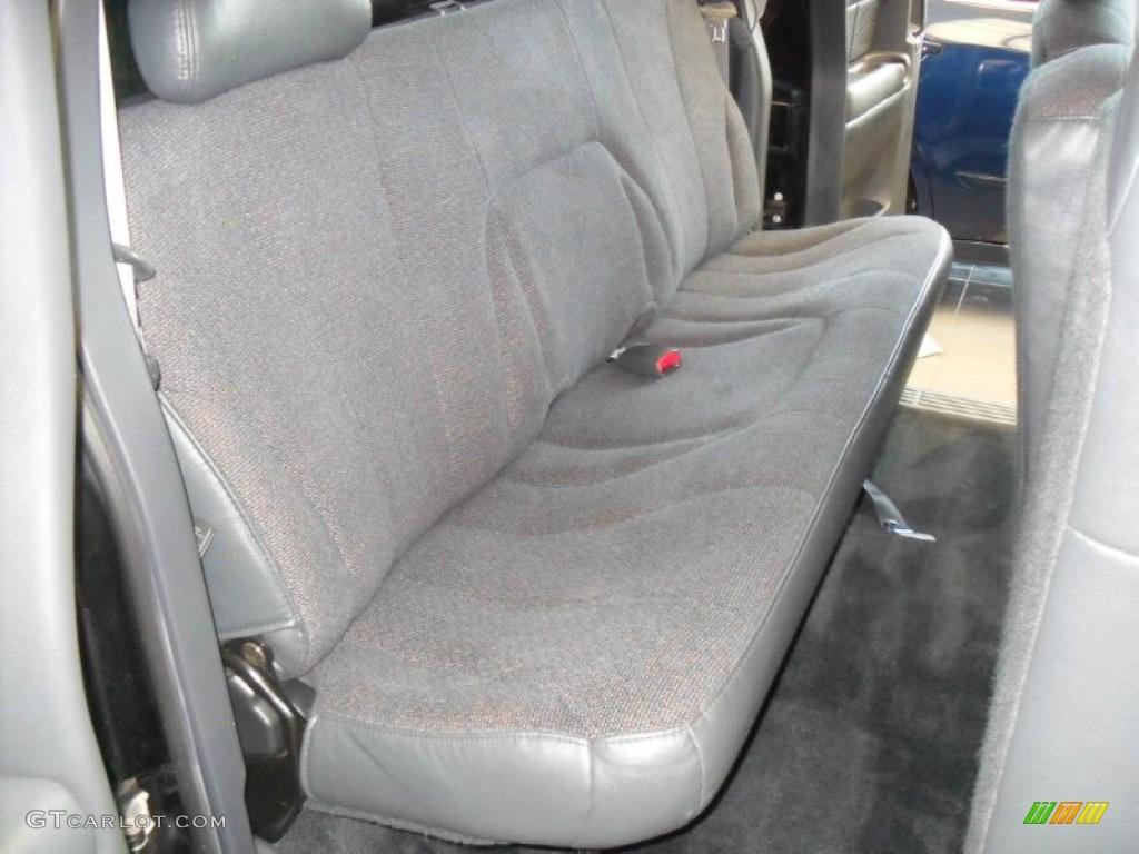 2002 Silverado 1500 Extended Cab - Onyx Black / Graphite Gray photo #12