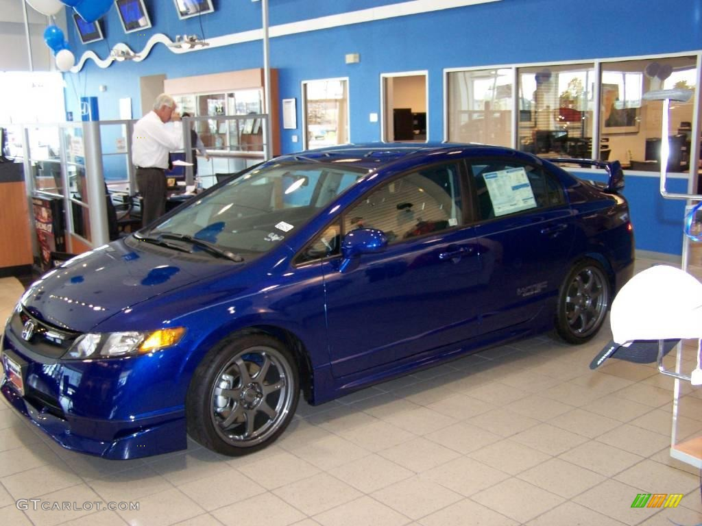 2008 Fiji Blue Pearl Honda Civic Mugen Si Sedan 6559071 Photo 9