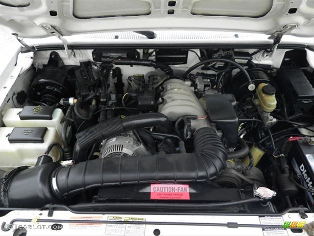 1995 Ford Ranger Xl Supercab 3 0 Liter Ohv 12 Valve V6