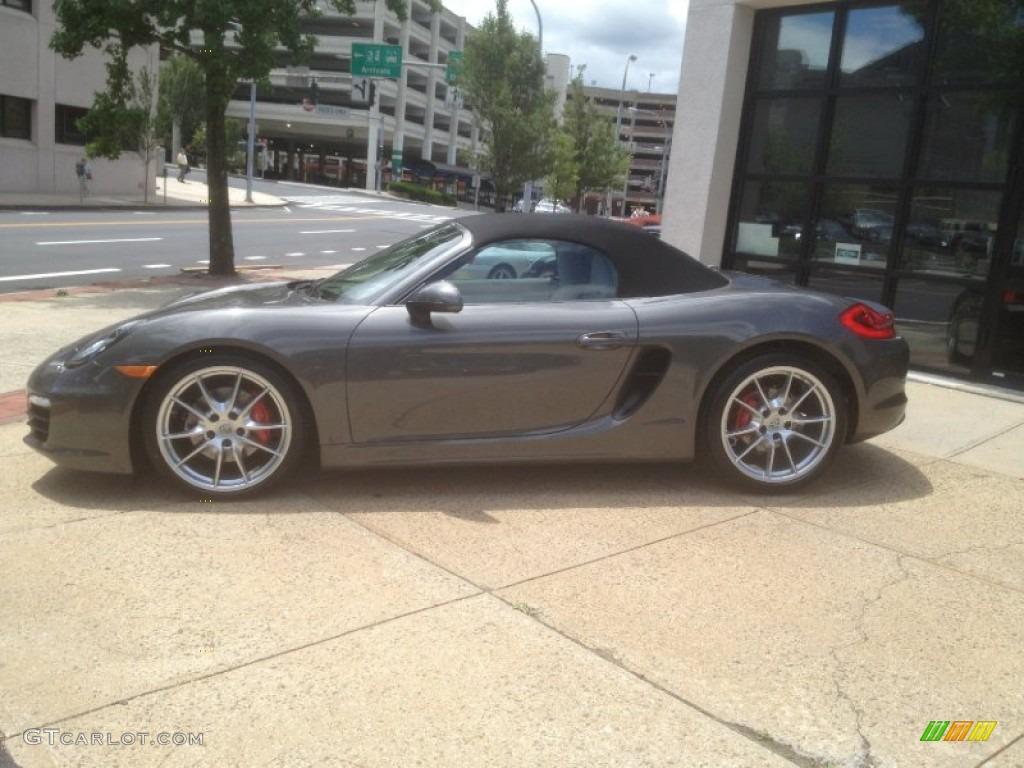 Agate Grey Metallic 2013 Porsche Boxster S Exterior Photo 67260432 Gtcarlot Com