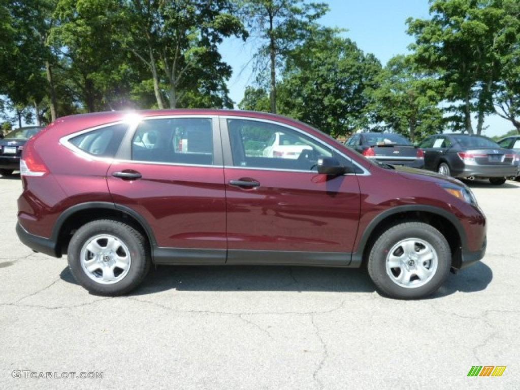 Basque Red Pearl Ii 2012 Honda Cr V Lx 4wd Exterior Photo 67265163 Gtcarlot Com