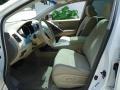 2011 Glacier White Pearl Nissan Murano SV AWD  photo #12