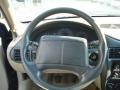2002 Chevrolet Cavalier Graphite Interior Steering Wheel Photo