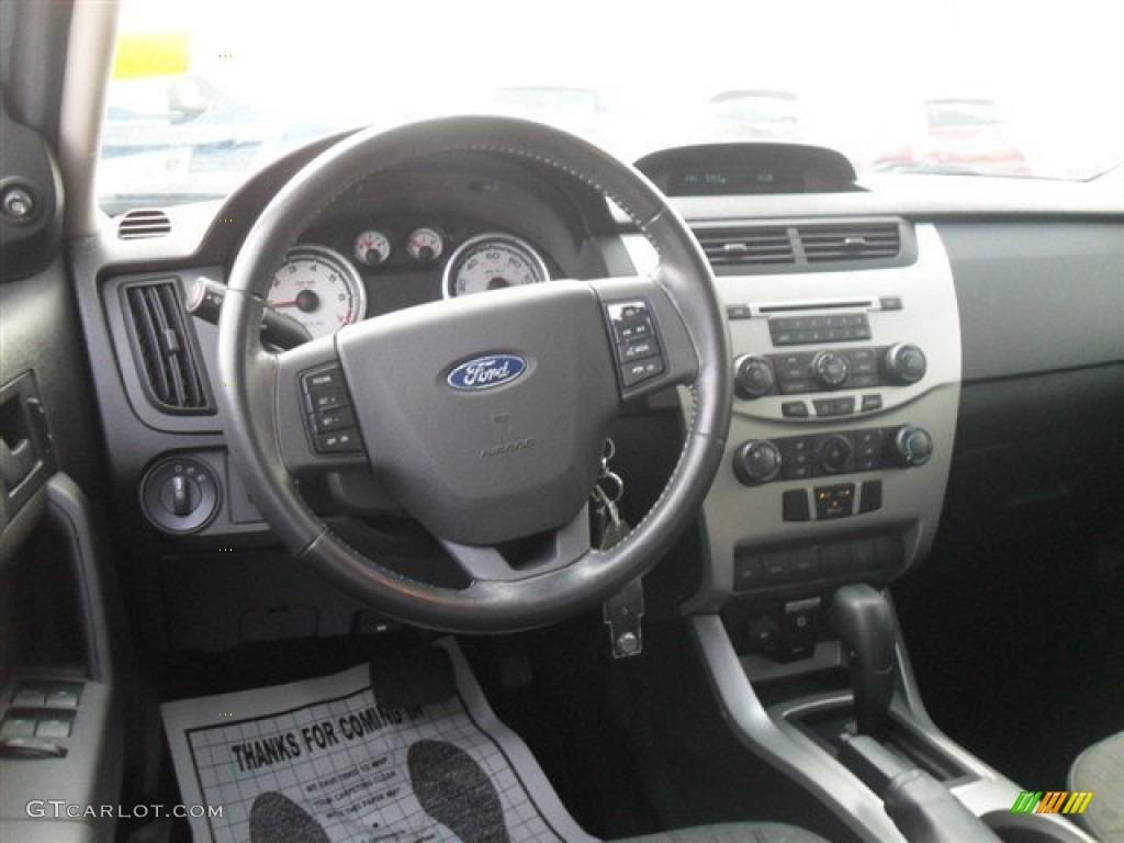 2008 Ford Focus Se Sedan Charcoal Black Dashboard Photo 67291256