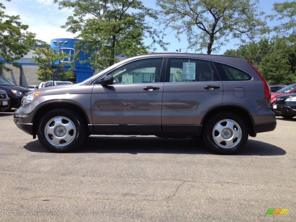 2011 CR-V LX 4WD - Urban Titanium Metallic / Ivory photo #1