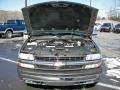 2000 Light Pewter Metallic Chevrolet Silverado 1500 LT Extended Cab 4x4  photo #23