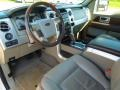 Medium Stone Leather/Sienna Brown 2009 Ford F150 Interiors