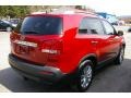 2011 Spicy Red Kia Sorento LX V6 AWD  photo #18