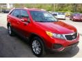 2011 Spicy Red Kia Sorento LX V6 AWD  photo #19